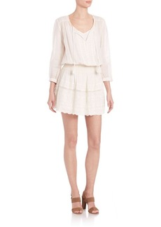 Joie Laton Cotton Eyelet Dress