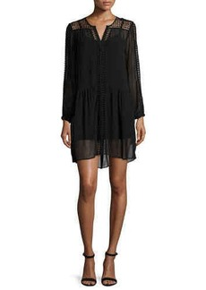 Joie Oshea Long-Sleeve Shift Dress