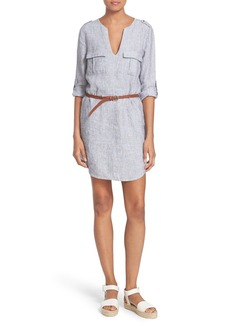 Joie 'Rathana C' Belted Shirtdress