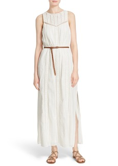 Joie 'Teviston' Cotton Lace Maxi Dress