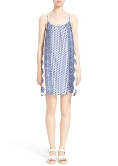 Soft Joie 'Jorell B' Block Print Cotton Slipdress