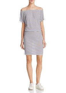 Soft Joie Zaina B Striped Off-The-Shoulder Dress