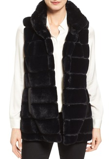 Jones New York Reversible Faux Fur Vest