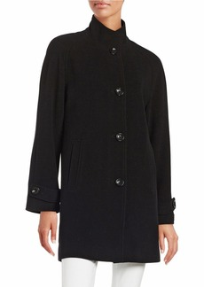 JONES NEW YORK Wool-Blend Walker Coat