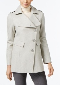 Kenneth Cole Asymmetrical Walker Coat