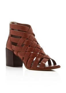 Kenneth Cole Charlene Woven Mid Heel Sandals