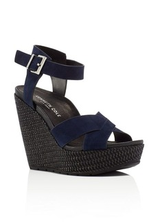 Kenneth Cole Clove Wedge Platform Sandals