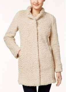 Kenneth Cole Faux-Fur Walker Coat