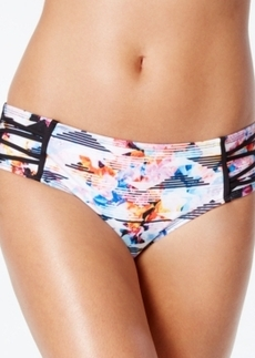 Kenneth Cole Flower Power Hipster Bikini Bottom Women's Swimsuit