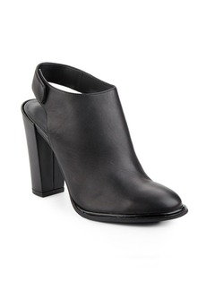Kenneth Cole Jill Leather Slingback Booties
