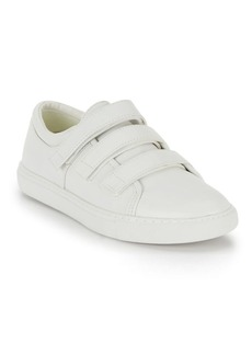 Kenneth Cole King Grip-Tape Leather Sneakers