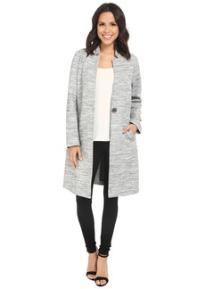 Kenneth Cole New York Novelty Jersey Walker Coat