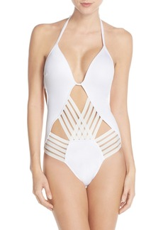 Kenneth Cole New York 'Stompin' Push-Up One-Piece Swimsuit