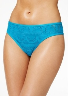 Kenneth Cole Reaction Crochet Hipster Bikini Bottom Women's Swimsuit
