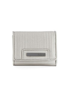 KENNETH COLE REACTION Never Let Go Multifunction Flap Wallet