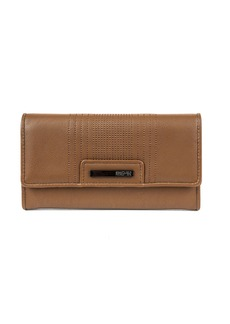 KENNETH COLE REACTION Never Let Go Trifold Flap Clutch