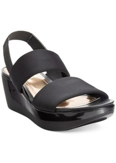 Kenneth Cole Reaction Pepe Pot Platform Wedge Sandals Women's Shoes