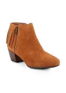 Kenneth Cole REACTION Pilates Fringed Suede Booties
