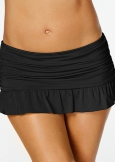 Kenneth Cole Reaction Ruffled Mini Swim Skirt Women's Swimsuit