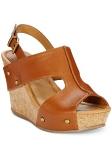 Kenneth Cole Reaction Sole-o Platform Wedge Sandals Women's Shoes