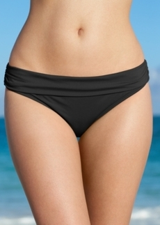 Kenneth Cole Reaction Solid Hipster Bikini Bottom Women's Swimsuit