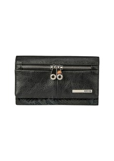 KENNETH COLE REACTION Wooster Street Leather Wristlet