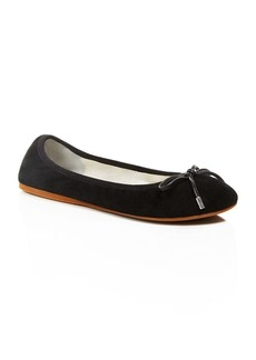 Kenneth Cole Saturn Suede Ballet Flats