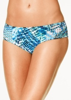 Kenneth Cole Sporty Splice Printed Hipster Bikini Bottoms Women's Swimsuit