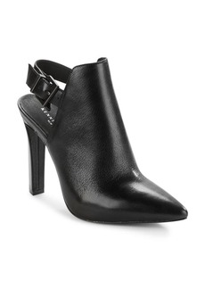 Kenneth Cole Whiley Slingback Leather Booties