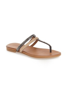 Reaction Kenneth Cole 'Bavette' Embellished Flip Flop (Women)