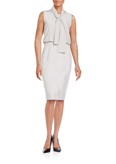 Lafayette 148 New York Abby Combo Dress