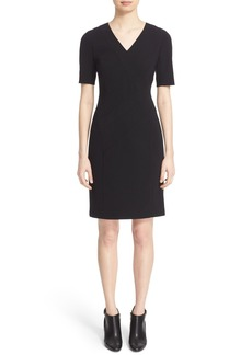 Lafayette 148 New York 'Akira' V-Neck Sheath Dress