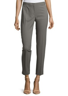 Lafayette 148 New York Astor Stretch Wool Slim-Leg Pants