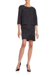 Lafayette 148 New York Belinda Popover Dress