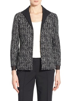 Lafayette 148 New York 'Bellene' Jacquard Jacket (Regular & Petite)