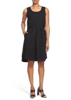 Lafayette 148 New York Belted A-Line Dress (Regular & Petite)