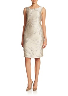 Lafayette 148 New York Biarritz Jacquard Faith Dress