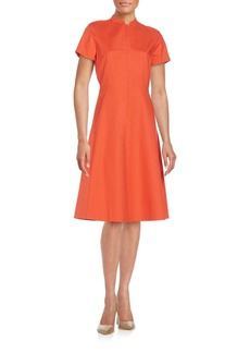 Lafayette 148 New York Braelyn A-Line Dress
