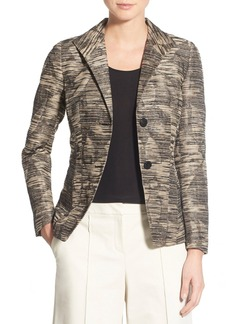 Lafayette 148 New York 'Carmen' Jacquard Jacket (Regular & Petite)