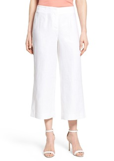 Lafayette 148 New York 'Charlton' Crop Linen Pants