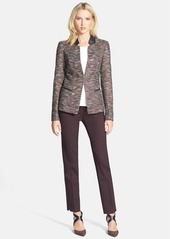 Lafayette 148 New York 'Clemente - Reed Cloth' Jacket (Regular & Petite)