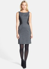 Lafayette 148 New York Contrast Side Knit Dress