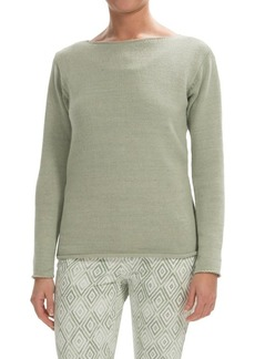 Lafayette 148 New York Cotton-Linen Sweater (For Women)