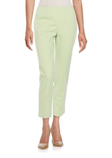 Lafayette 148 New York Cropped Bleecker Bi-Stretch Pants