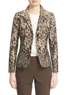 Lafayette 148 New York 'Debbie' Animal Jacquard Blazer