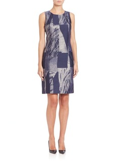 Lafayette 148 New York Delia Prism Jacquard Dress