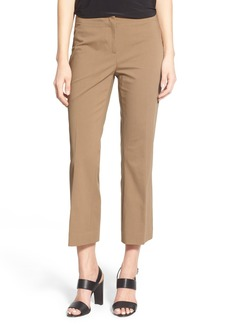 Lafayette 148 New York 'Downtown' Crop Flare Leg Pants (Regular & Petite)