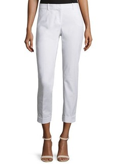 Lafayette 148 New York Downtown Slim-Leg Cropped Pants  Downtown Slim-Leg Cropped Pants