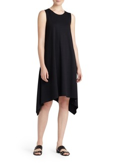 Lafayette 148 New York Draped A-Line Tank Dress