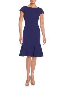 Lafayette 148 New York Edwina Stretch Wool Dress